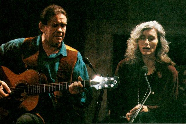 Dick Gaughan and Emmylou Harris