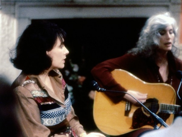 Mary Chapin Carpenter and Emmylou Harris